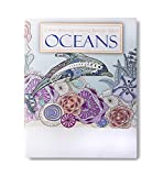 OCEANS Adult Coloring Books (2 Pack) - 24 Relaxing Ocean Designs to Color