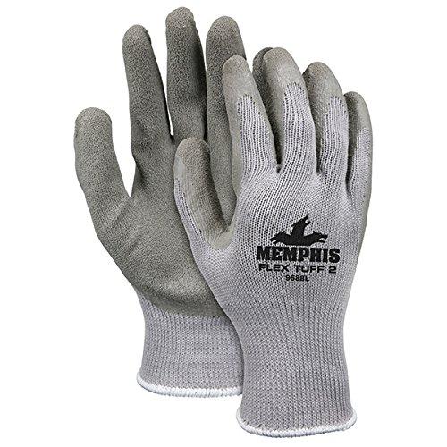MCR Safety Flex Tuff II Gloves, Medium (96 (Flex Tuff Gloves)