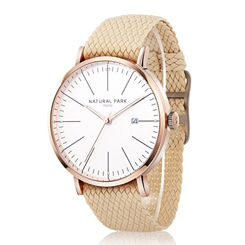 White Gold Unisex Watch - 3