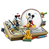 Disney Comic Strip Artists Mickey Mouse Collectible Snowglobe