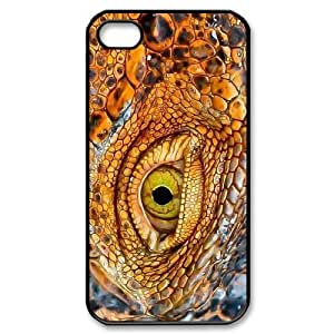 Snake The Unique Printing Art Custom Phone Case for Iphone 4,4S,diy cover case ygtg533451