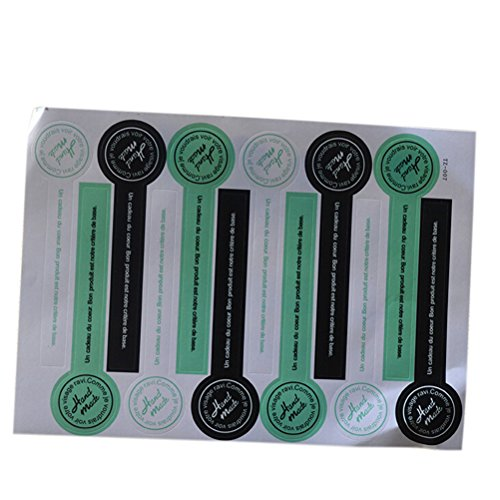 24 Pcs Lollipop Shaped Seals Stickers For Tins Boxes Jars Bags Labels Gift by (Lollipop Tin)