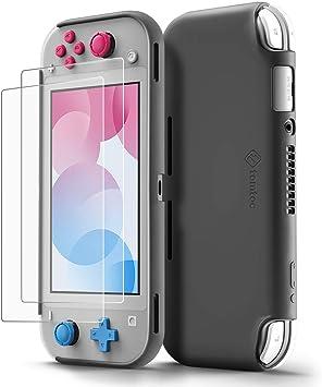 tomtoc Funda Silicona Líquida para Nintendo Switch Lite, Carcasa ...