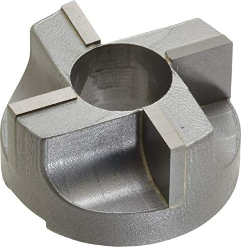 4 Flutes, 1-1/2'' Diam, 5/8'' Pilot Hole Diam, Carbide-Tipped Reverse Counterbore pack of 2 by Made in USA