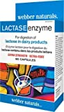 Webber Naturals Lactase Enzyme Extra Strength, 60 Capsules