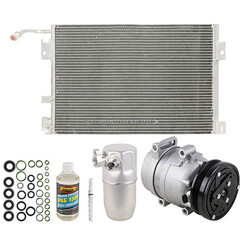 A/C Kit w/AC Compressor Condenser Drier For Chevy Corvette C5 1997 1998 1999 - BuyAutoParts 60-89210CK - Conditioning Corvette Air
