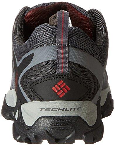 Columbia PEAKFREAK XCRSN XCEL - Zapatillas de senderismo para hombre gris - gris/rojo