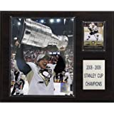 NHL Sidney Crosby with Stanley Cup Pittsburgh Penguins Player Plaque