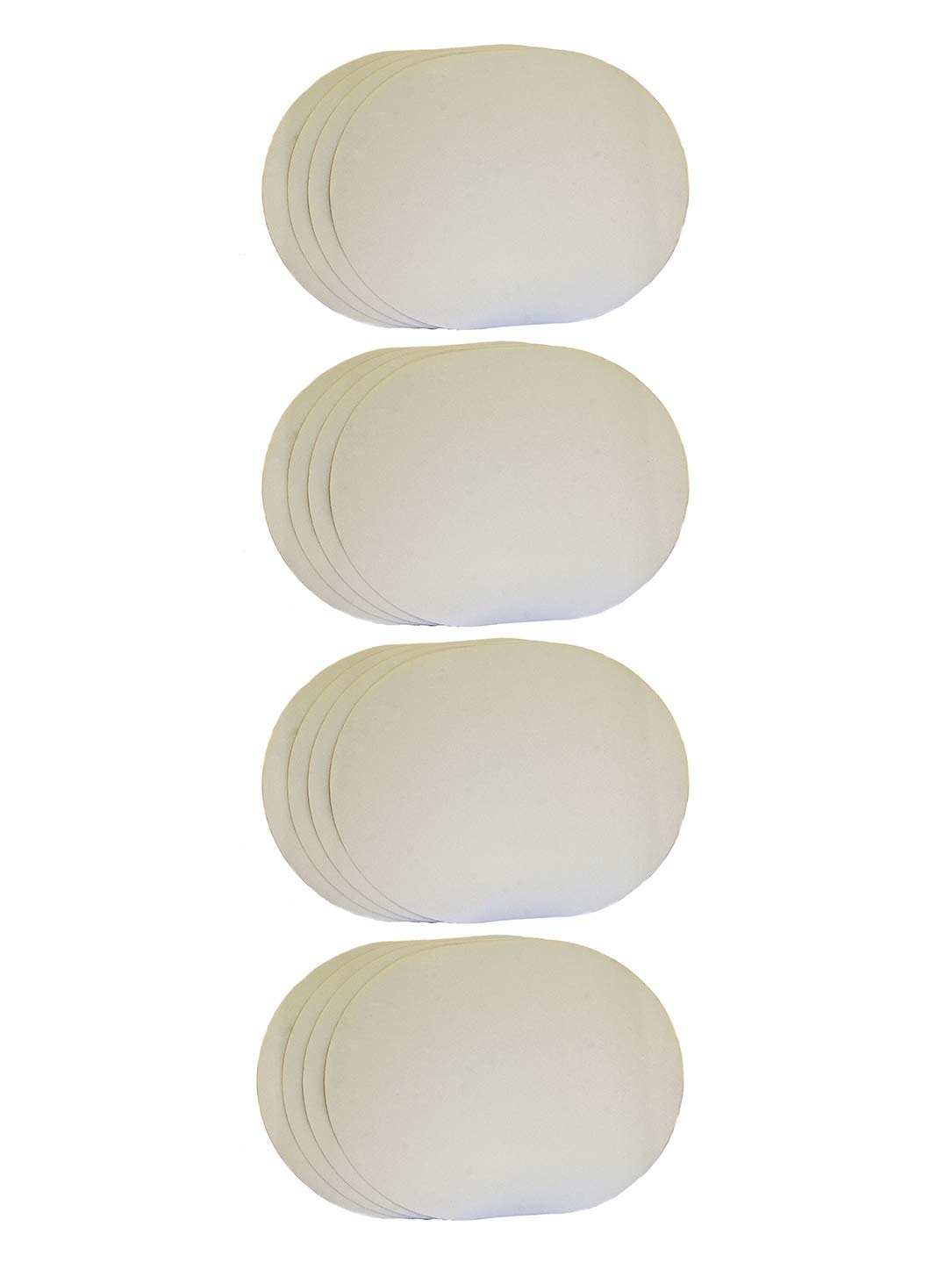 Fredrix Natural Canvas Oval Placemats (Pack of 4) by Fredrix