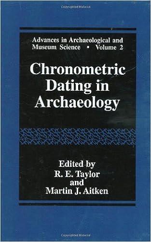 Chronometric dating definition