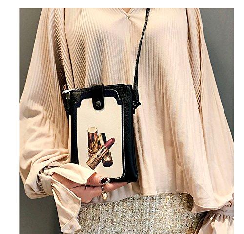 Purse Phone Women Cell Lipstick Bag Crossbody Smartphone Wallet Shoulder Phone Holder USTwf