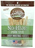 Cheap Earth Animal No Hide Pork Chews Stix Dog Treats 10 Pieces
