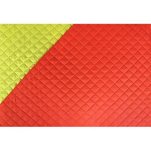 couvre lit jaune orange Couvre lit boutis uni   Double face   1 place et demie   Jaune  couvre lit jaune orange