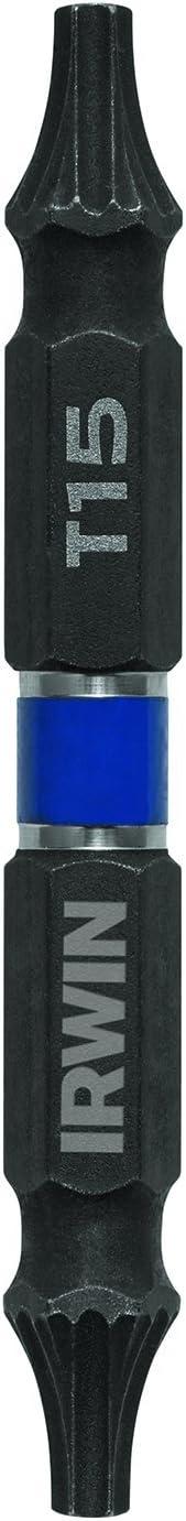 Irwin Tools 1892005Impact Performance Series de puntas con juego de destornillador 23/8-length, 2-pack