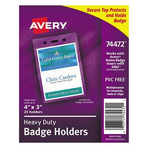 Avery Heavy Duty Holders Portrait 74472