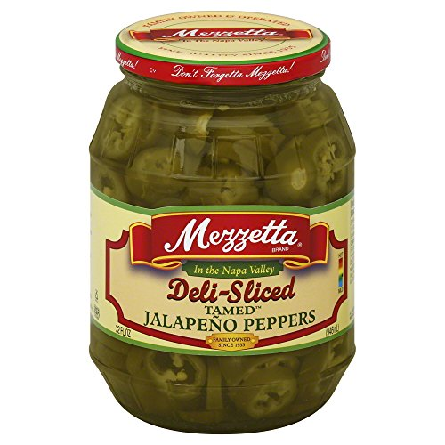 (Mezzetta Deli-Sliced Tamed Jalapeno Peppers, 32 Ounce (Pack of 6))