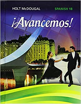 Buy Avancemos Level 1b Grades 6 8 Book Online At Low Prices In