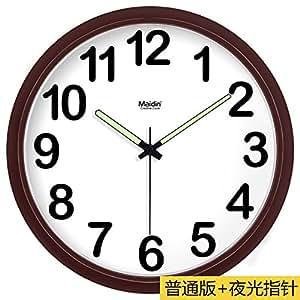 BYLE Silencio de Moda creativa reloj minimalista moderno arte digital dibujo reloj de cuarzo Reloj de