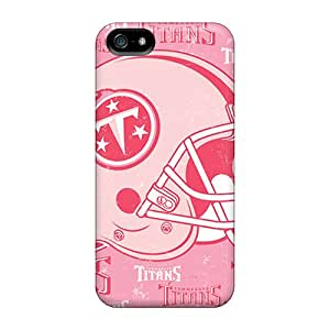 Hot Tennessee Titans First Grade Tpu Phone Case For Iphone 5/5s Case Cover