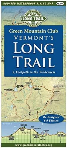 Mountain Green Vermont\'s Long Trail Map