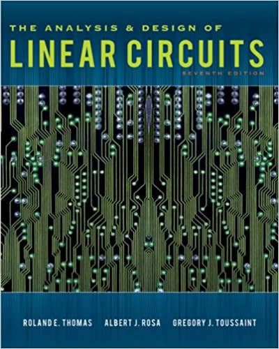 amazon com the analysis and design of linear circuits 7th edition