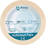 """Primo Dental Products AT101 Autoclave Sterilization Indicator Tape, 1/2"""", 60 yd"""