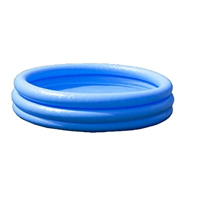 Crystal 3 Ring Blue Pool, 3-Ring, 66 in x 16 in: Toys & Games