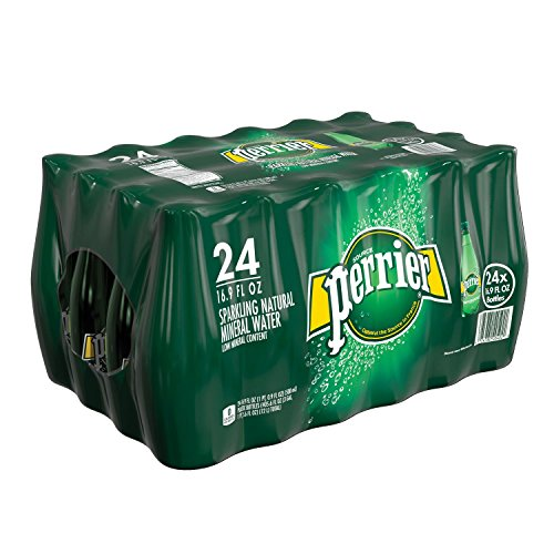 Perrier Sparkling Natural Mineral Water (16.9 oz. bottles, 24 pk.) (pack of 6) by Perrier