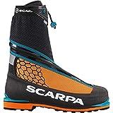 Scarpa Men's Phantom Tech M Mountaineering Boot, Black/Orange, 38.5 EU/6 1/3 M US
