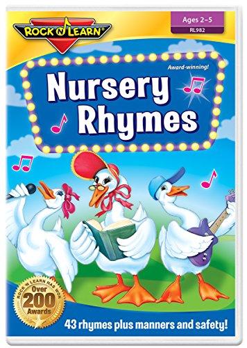 Nursery Rhymes DVD by Rock 'N Learn