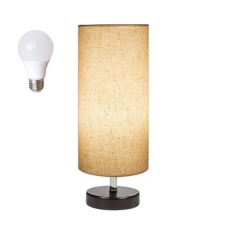 Amazon Com Deeplite Table Lamp Small Table Lamp With Led Bulb