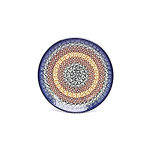 Polish Pottery Plate – 7 3/4 Salad/dessert – Autumn by Polish Pottery Gallery