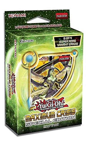 Yugioh Maximum Crisis SE Special Edition Mini Booster - Booster Box Gi Yu Edition Oh