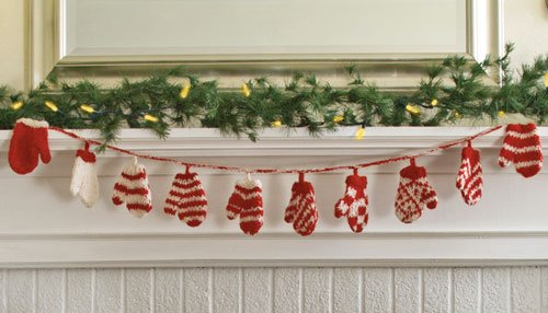 - Fair Trade & Handmade (Mitten Garland)