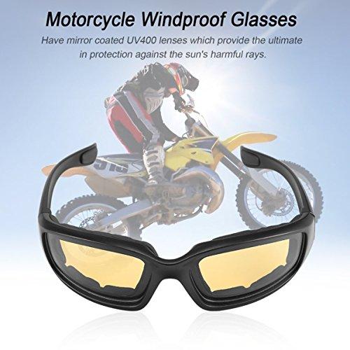 de Polvo anteojos Prueba anteojos de Jullyelegant a Moto al Aire Viento a Libre Gafas Gafas Prueba de qwPzwv