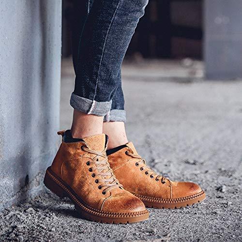 innovative design 86d0f 18521 Winter und Herbst Schuhe Single Retro Stiefeletten Shukun ...