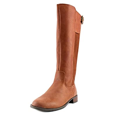 Kenneth Cole Unlisted Womens Spare Star Almond Toe Knee High Luggage Size  80