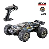 Gbell 36km/h High Speed RC Race Cars,36+MPH 1/16 2.4Ghz Remote Controlled Vehicle,4WD IPX4 Waterproof Truck Birthday Gifts for Boys 6-15 Years Old (Blue)