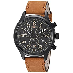 Timex Expedition Field Strap Chronograph Men's Watch Leather