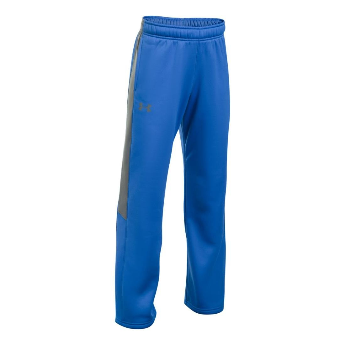 Under Armour Boys PS Armour Fleece Pant, Blue/Graphite, YMD by Under Armour (Image #1)