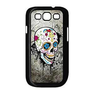 ALICASE Diy Back Case Skull For Samsung Galaxy S3 i9300 [Pattern-1]