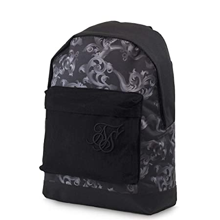 Sik Silk Mens Pouch Backpack School Bag Adjustable Padded Straps Camo