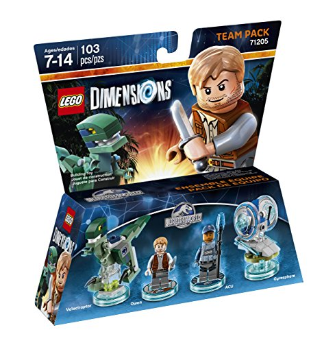Jurassic World Team Pack - LEGO Dimensions - http://coolthings.us