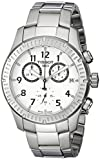 Tissot Men's T0394171103700 V8 Analog Display Swiss Quartz Silver Watch