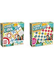 Anker Play Giant Games Bundle: Giant Checkers & Giant Link 3