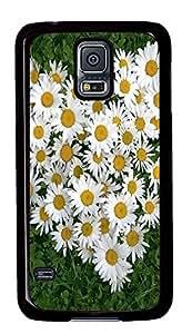 Samsung S5 amazing cases Love Heart Flowerss PC Black Custom Samsung Galaxy S5 Case Cover by icecream design