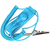 Anti-static Wristband Wrist Strap Band ESD Discharge. Prevents Build Up of Static Electricity TRIXES