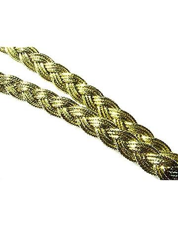 2 Meters Metallic Gold Effect Braid 10 mm 3//8 Wide