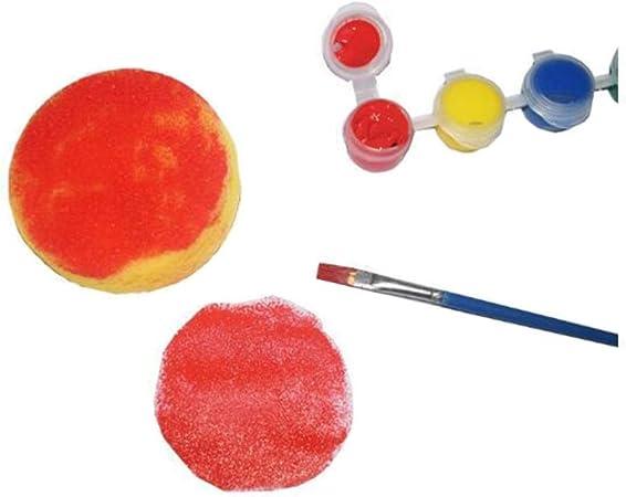 12 Pcs Painting Sponge Brush Synthetic Artist Sponges Brush Watercolor Spon U5E2