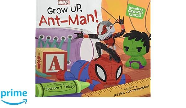 GROW UP ANTMAN: Amazon.es: BRANDON T. SNIDER: Libros en ...
